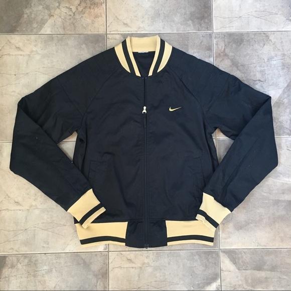 Nike Jackets & Blazers - Nike Bomber Jacket Great Condition Black  S